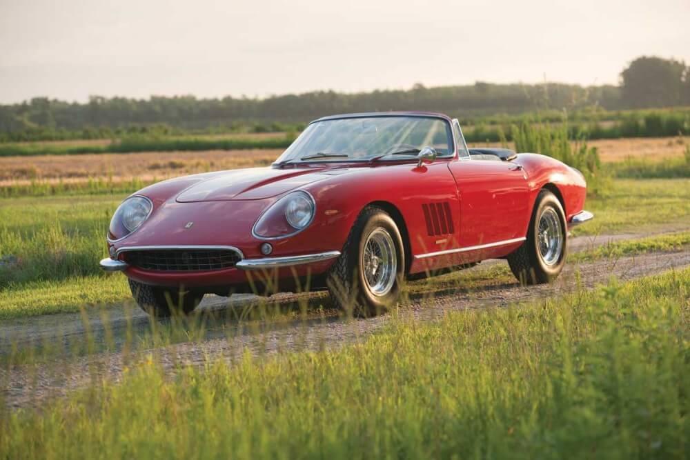 Red 1967 Ferrari 275 GTB/4*S N.A.R.T Spider