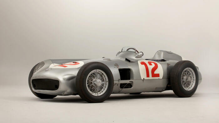 1954 Mercedes-Benz W196R Formula-1 Racing Car