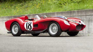 Red 1957 Ferrari 250 TR