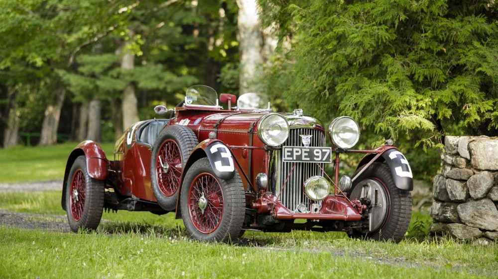 1936 Lagonda LG45R Rapide sports-racing two-seater