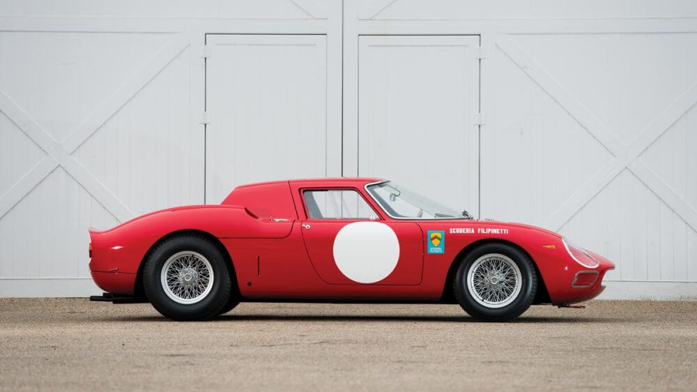1964 Ferrari 250 LM side profile