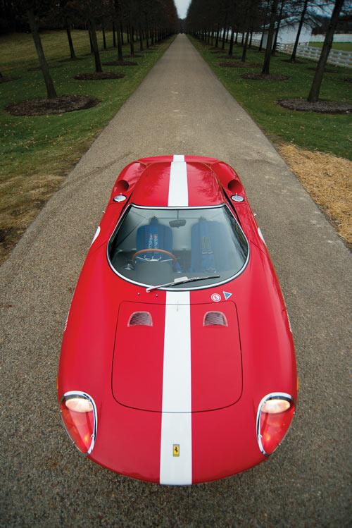 1964 Ferrari 250 LM front above