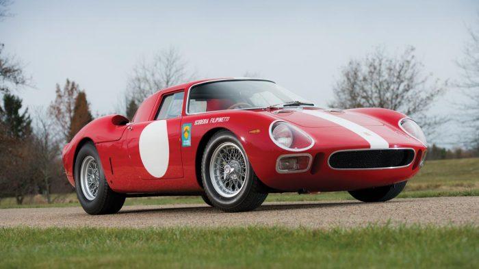 1964 Ferrari 250 LM by Scaglietti front 3/4