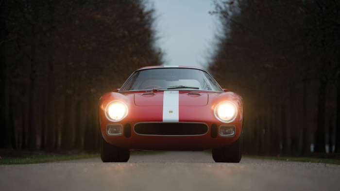 1964 Ferrari 250 LM by Scaglietti Front, lights on