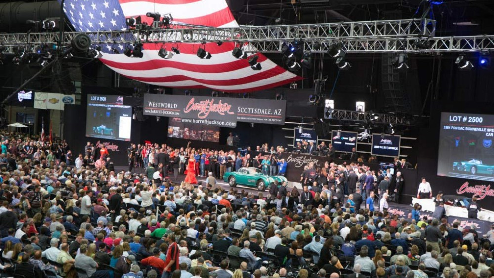 Barrett Jackson 2015 Scottsdale Auction