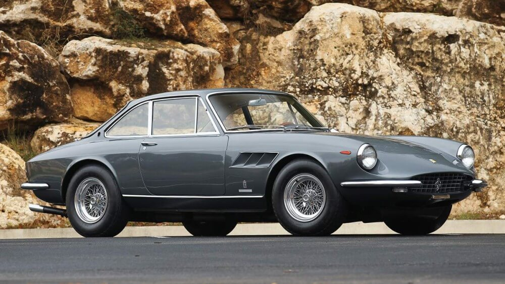 The 1967 Ferrari 330 GTC with coachwork by Pininfarina