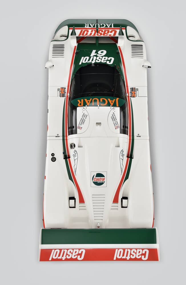 1988 Works Jaguar XJR-9 (From Above)