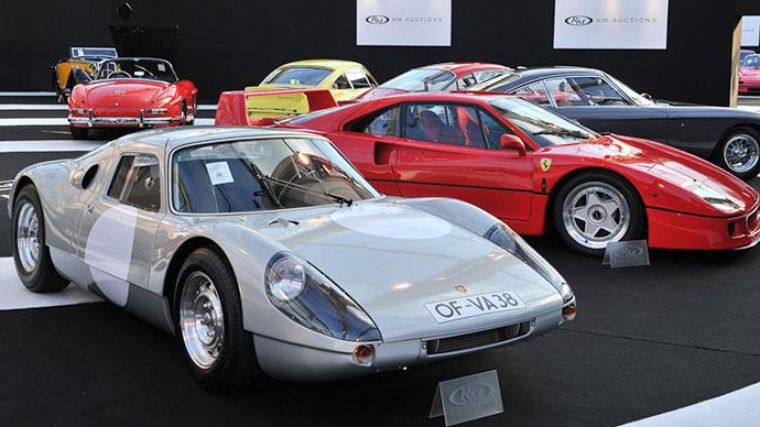 Porsche 904 & Ferrari F40 at RM Auctions Paris 2015