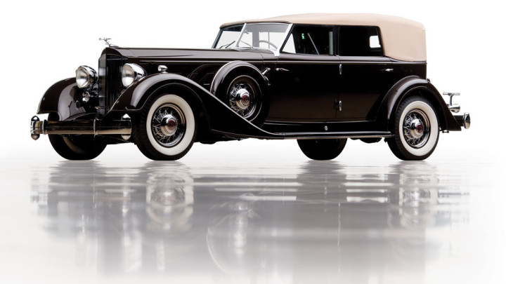 1934 Packard Twelve Individual Custom Convertible Sedan by Dietrich