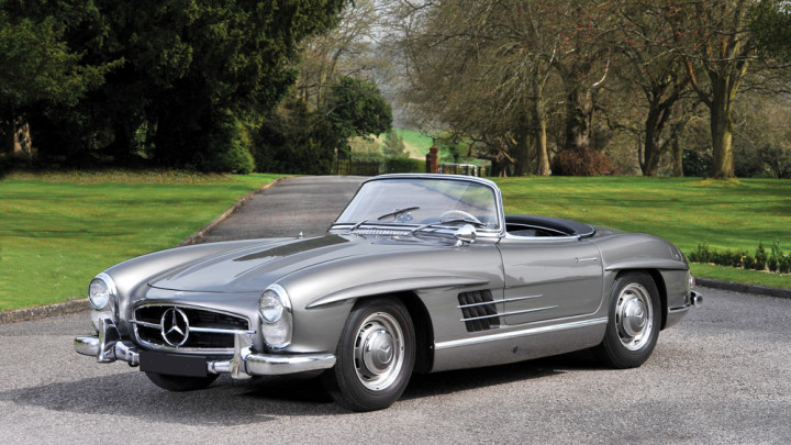 1958 Mercedes-Benz 300 SL Roadster