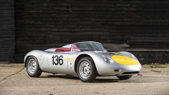 Sir Stirling Moss's 1961 Porsche RS-61 Sports racing car
