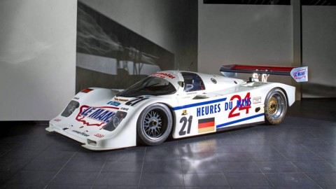 The Ex-Jürgen Oppermann/Otto Altenbach/Loris Kessel Obermaier Racing – first Porsche home at Le Mans,1990-93 Porsche Type 962 C Endurance Racing Competition Coupe