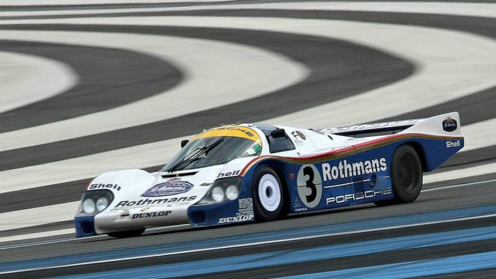 Le Mans winning 1982 Porsche 956