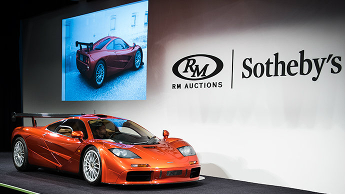 SOLD 1998 McLaren F1 'LM-Specification