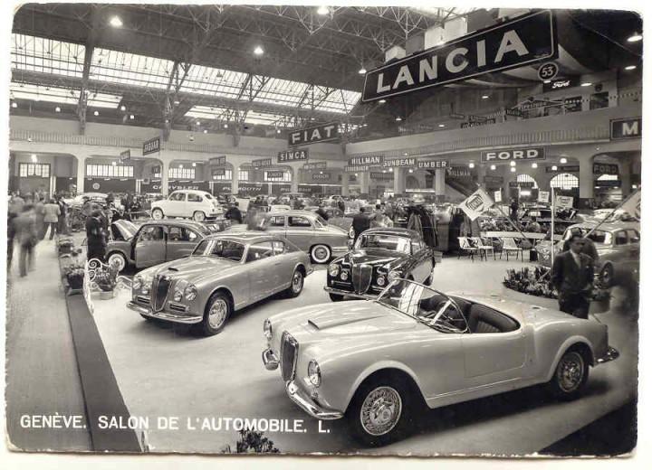 Lancia Aurelia B24 Spider with Hardtop 1955 Geneva