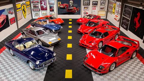 Ferraris from the Tony Shooshani Collection