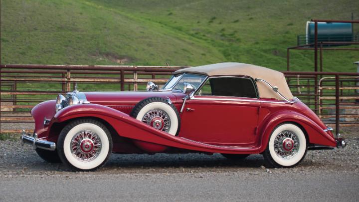 1939 Mercedes Benz 540 K Spezial Cabriolet A by Sindelfingen