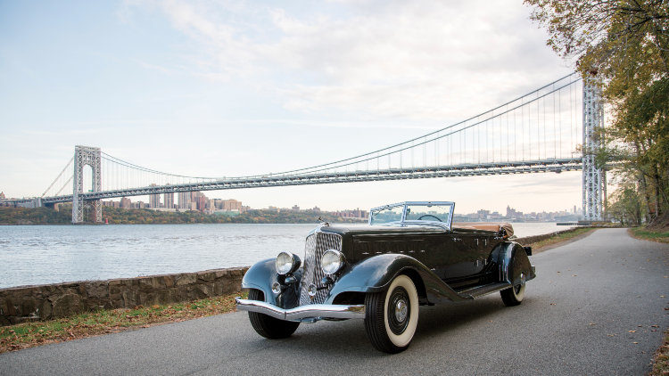 1933 Chrysler CL Imperial Dual-Windshield Phaeton 'Ralph Roberts' by LeBaron