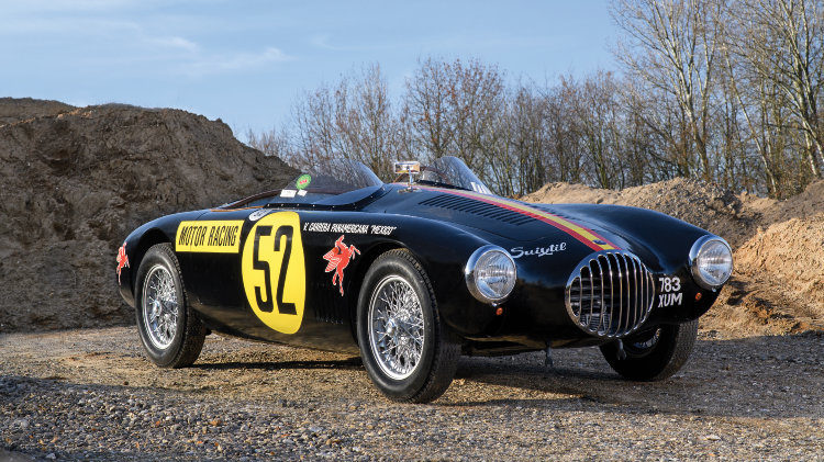 1954 OSCA MT4 1500 by Frua