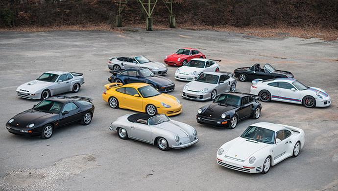 13 Porsches on offer at RM Sotheby's Paris 2017