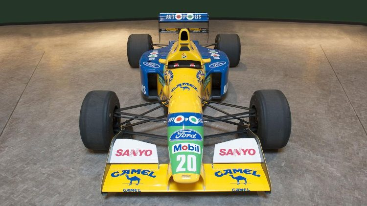 1991 Benetton B-191-02 Formula 1 car