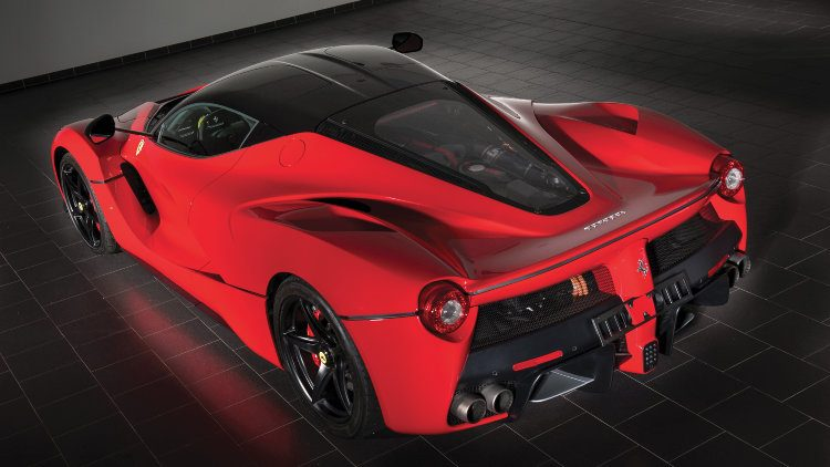 2014 Ferrari LaFerrari Rear