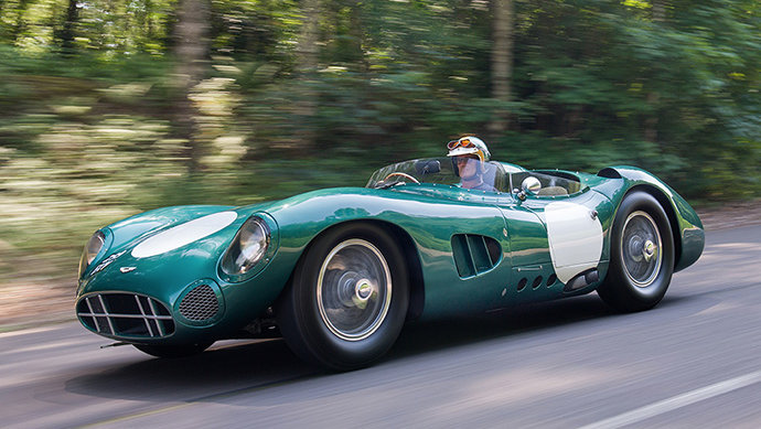 1956 Aston Martin DBR1/1 on Track