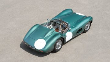 1956 Aston Martin DBR1/1 from above