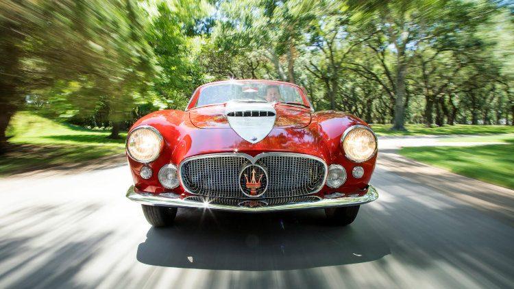 1956 Maserati A6G/54 Gran Sport Spider by Frua