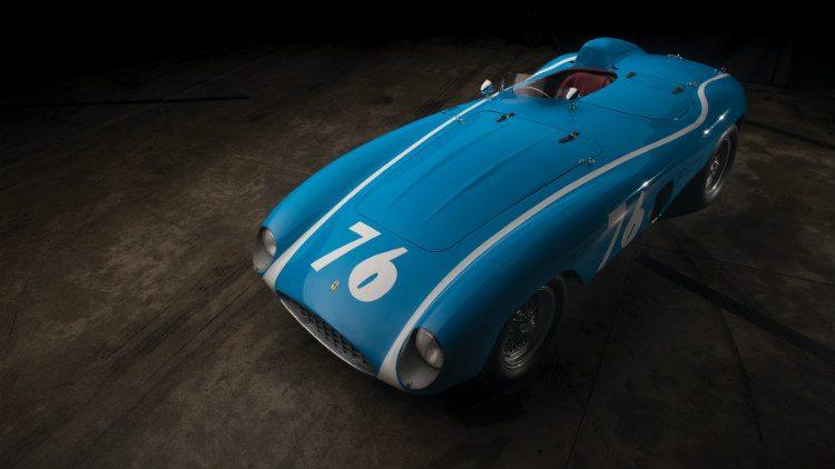 1955 Ferrari 121 LM Spider by Scaglietti