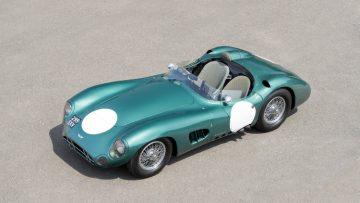 1956 Aston Martin DBR1 Above Front