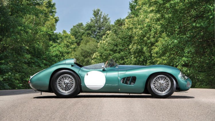1956 Aston Martin DBR1 Side profile