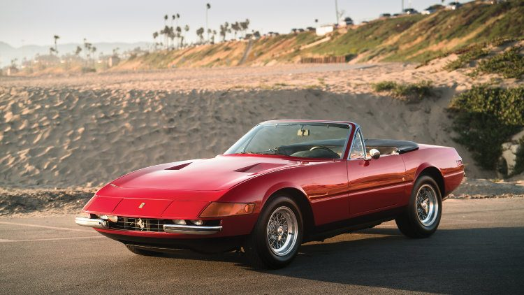 1972 Ferrari 365 GTB/4 Daytona Spider by Scaglietti