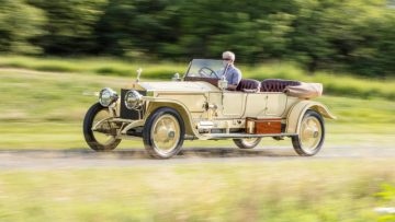 1913 Rolls-Royce London to Edinburgh Silver Ghost