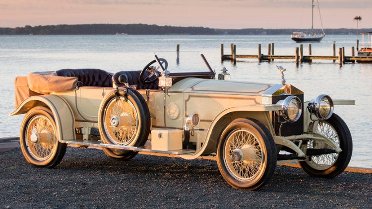 1913 Rolls-Royce Silver Ghost London-to-Edinburgh