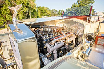 1913 Rolls-Royce Silver Ghost London-to-Edinburgh Engine