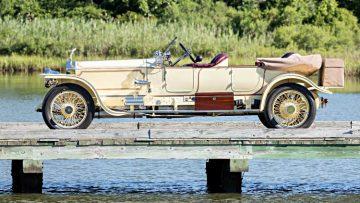 1913 Rolls-Royce Silver Ghost London-to-Edinburgh Side Profile