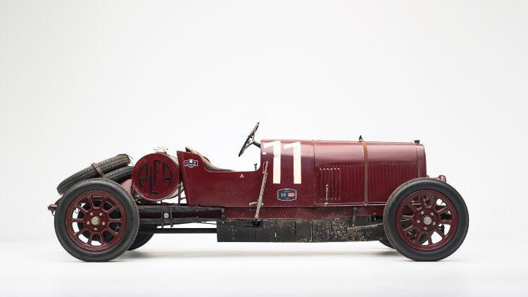 1921 Alfa Romeo G1 Side Profile