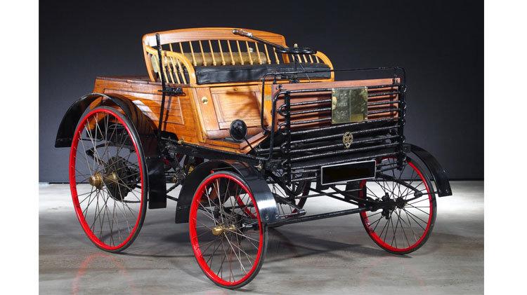 1894 Santler 3½ HP Dogcart