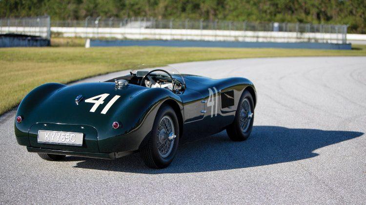 1952 Jaguar C-Type rear