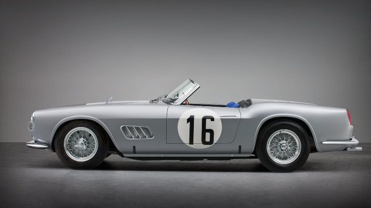 1959 Ferrari 250 GT LWB California Spider Competizione side
