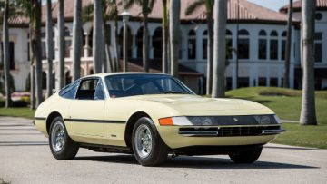 First 1969 Ferrari 365 GTB/4 Daytona