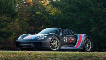 2015 Porsche 918 Spyder Weissach Martini