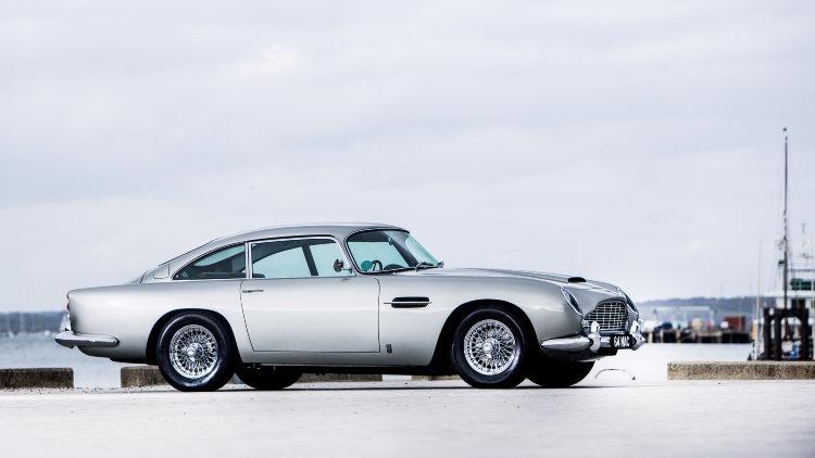 Paul McCartney's 1964 Aston Martin DB5 4.2-Litre Sports Saloon