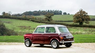 "ex-Ringo Starr 1966 Mini Cooper ""S"" Sports Saloon Radford Conversion"