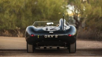 1954 Jaguar D-Type Works Rear