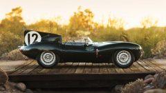 1954 Jaguar D-Type Works Side Profile