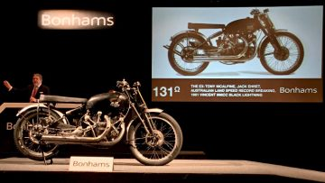 1951 Vincent 998cc Black Lightning at Auction