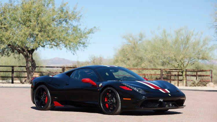 2015 Ferrari 458 Italia Speciale Lot 1431