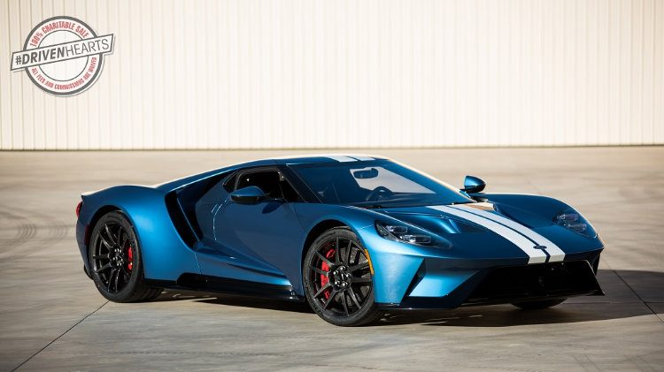 2017 Ford GT to be donated and auctioned for charity Lot 3010